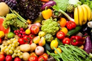 Obst und Gemüse sind ideale Basenlieferanten