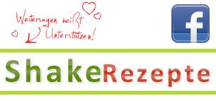 Shake Rezepte jetzt auch auf Facebook